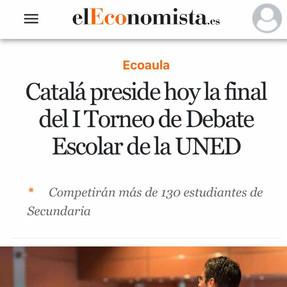 El ministro Catalá preside la final del I Torneo UNED-DOCE