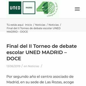 II Torneo UNED Madrid-DOCE