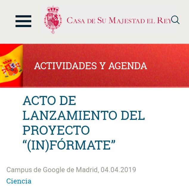 Proyecto (In)fórmate Casa Real