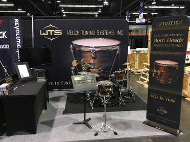 NAMM Show Product Booth