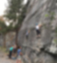 Women host event with Outsiety - outdoor adventures - rock climbing in Montana