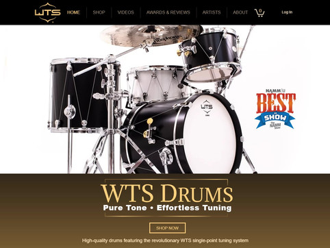 WTS Drums Website
