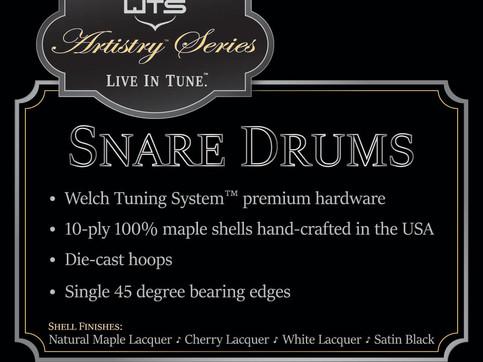 Drum Kit Signage for NAMM Show