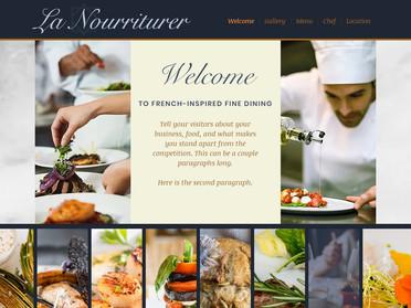 Sample 1 Page Website