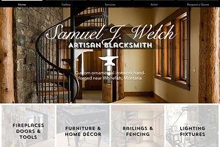 Samuel J Welch Artisan Blacksmith websit