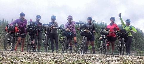 Outsiety women - adventures in Montana - mountain biking and bike packing