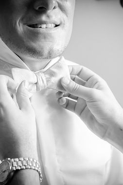 Préparation des mariés à Lartus