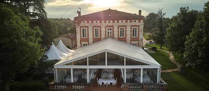Mariage Chateau Lartus