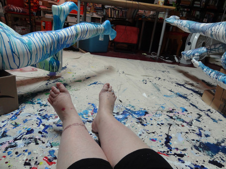 Day 111 of Project 365: I'M PAINTING AGAIN!!!