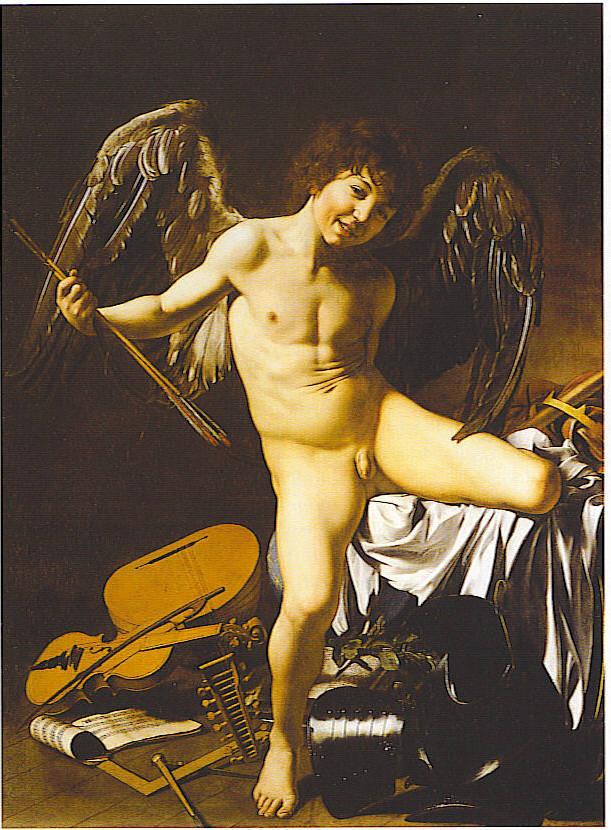 Love Conquers All ByCaravaggio