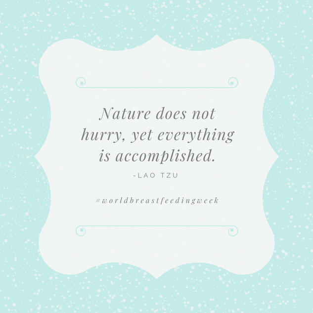 Nature does not hurry, yet everything is
