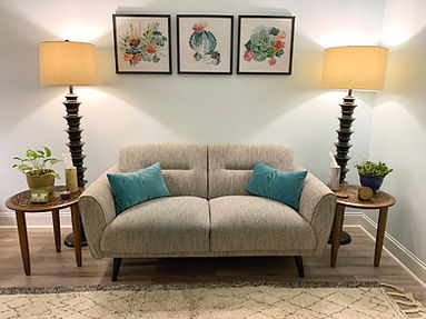 Relationship coaching couch in Richmond, VA
