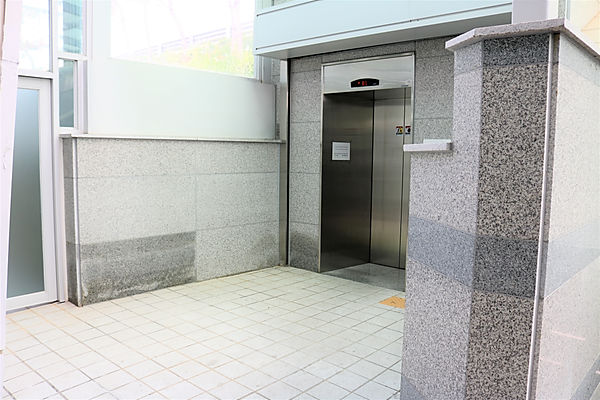 An elevator of Unseo station