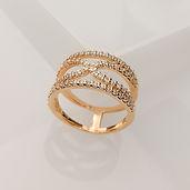 Semijoia - Anéis folheados em Ouro 18k, Prata e Ródio