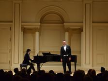 Manhattan Opera Studio, Opera Gala, Weill Recital Hall, Carnegie Hall