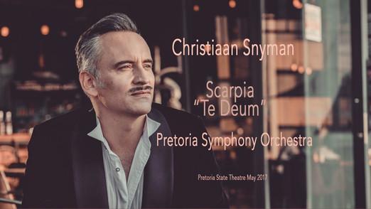Christiaan as Scarpia in Puccini's Tosca
