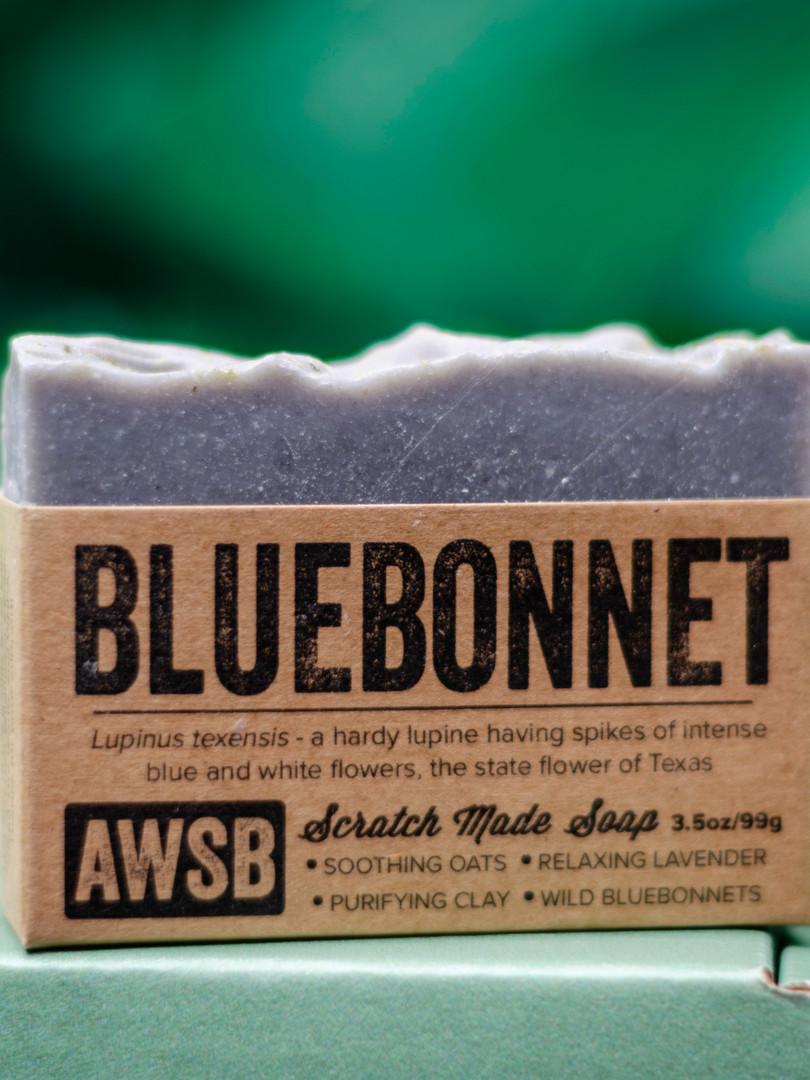 AWSB Blue Bonnet Soap