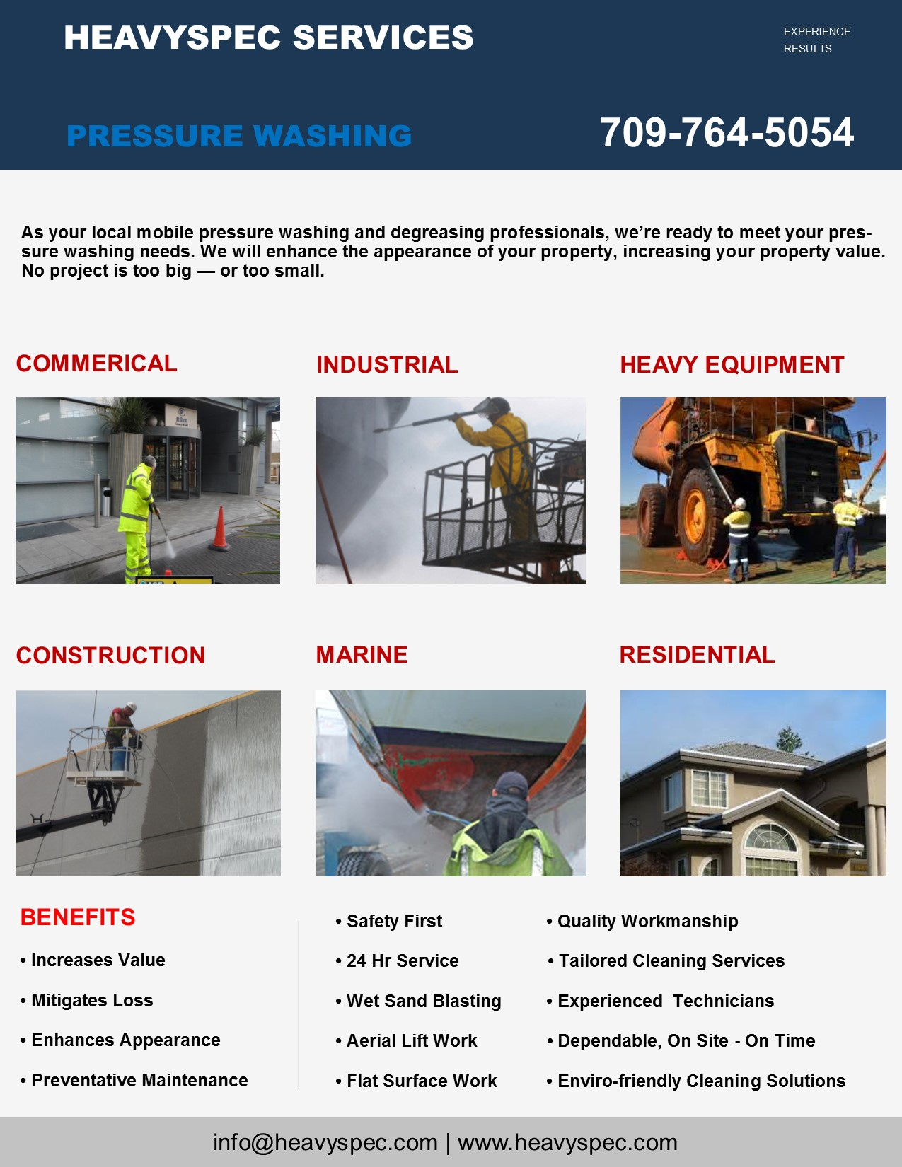 Pressure Washing Brochure 1