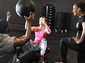 Personal Training duo alpha shape