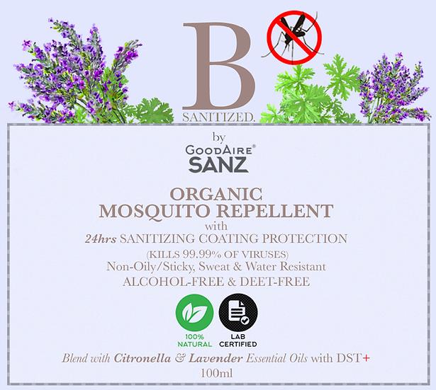 Organic Mosquito Repellant