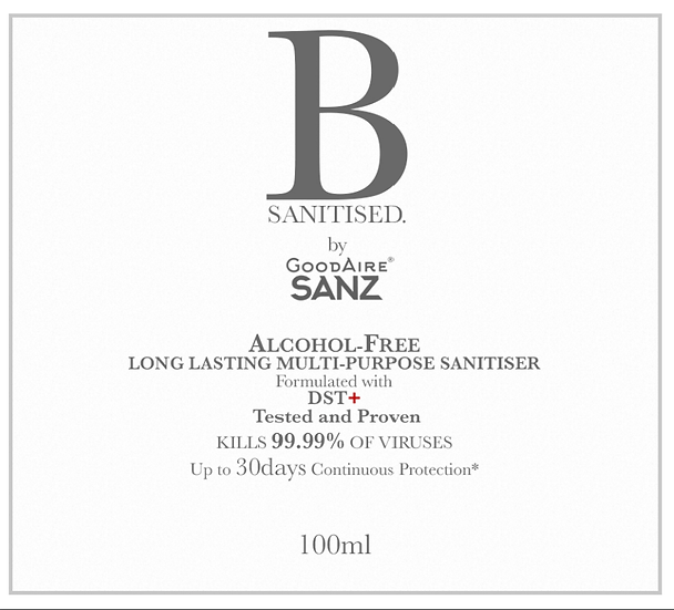 B Sanitized Spray (Alcohol Free)