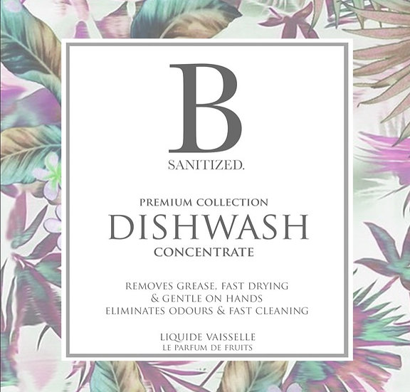 B-Sanitized Dishwash Concentrate