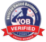 Verified Veteran Owned Business badge for Randol Law, LLC, a business and litigation law firm in Columbus