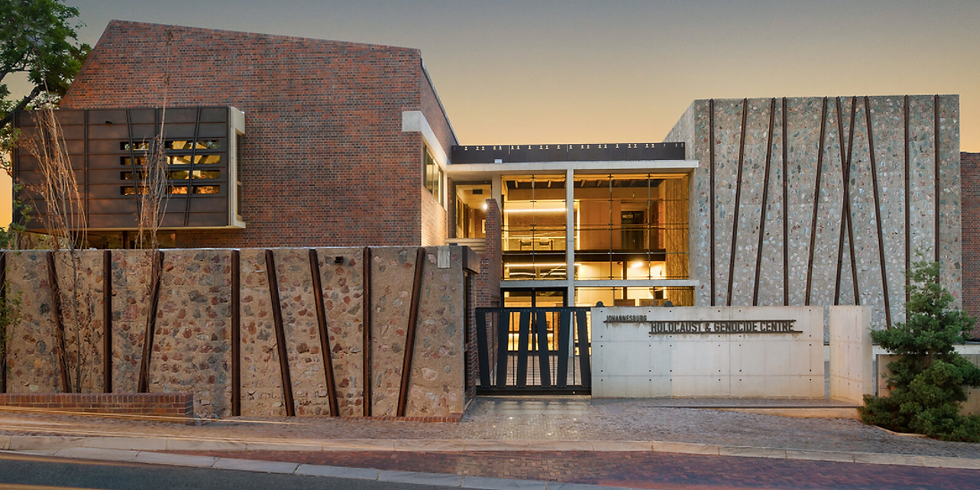 An Evening with Esther's Daughter & The Johannesburg Holocaust & Genocide Center