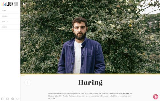 HARING - BLURRED - ALBUM