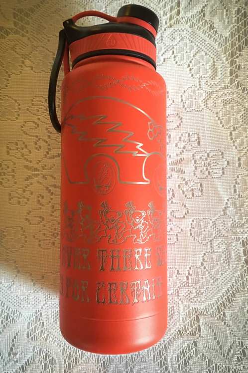 Etched Bears Thermal Bottle