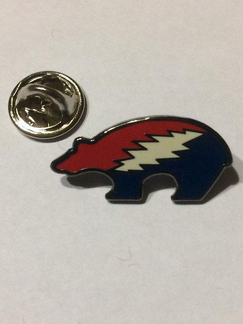 Bears Picnic Cloissonné Enamel Pin