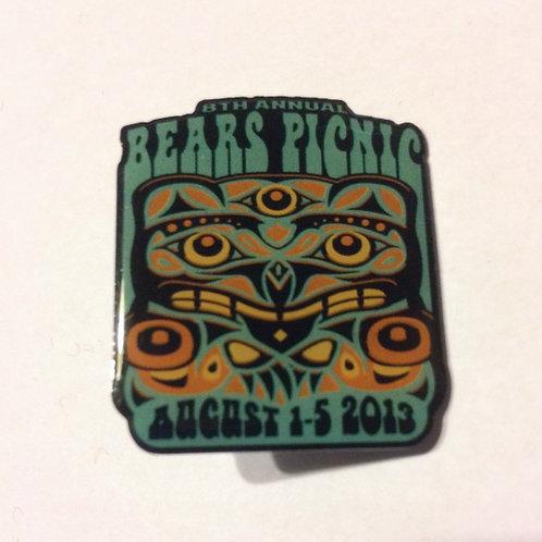 Bears Picnic Pins