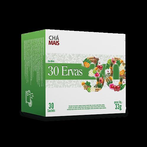 Chá Misto 30 Ervas / 30 sachês / Peso Liq.: 33g