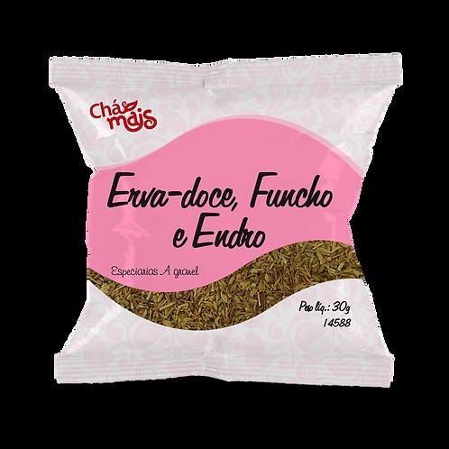 Chá de Erva-doce, Funcho e Endro / A granel / Peso Liq.: 30g