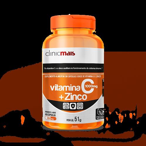 Vitamina C + Zinco / Peso Líq.:51g [PRODUTO VEGANO]