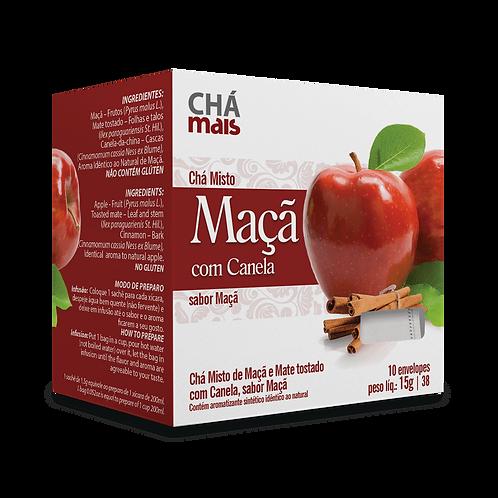 Chá Misto Maçã com Canela / 10 sachês / Peso Líq.:15g