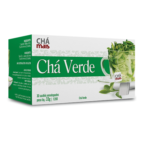 Chá Verde / 30 sachês / Peso Liq.: 33g