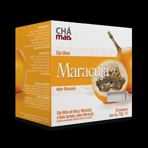 Chá Misto Maracujá / 10 sachês / Peso Líq.:15g