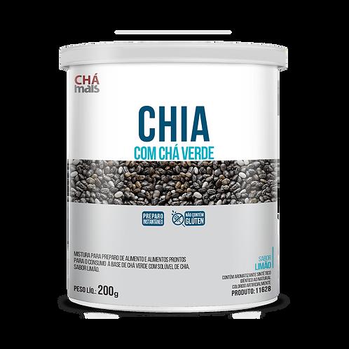 Solúvel de Chia com Chá Verde  / Peso Líq.: 200g