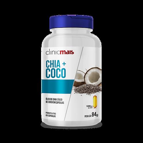Óleo de chia e óleo de coco / Peso Liq.: 84g