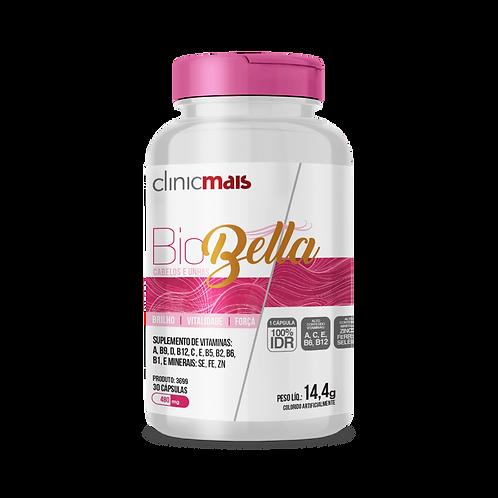 Biobella - Cabelos e Unhas / 30 cápsulas / PesoLíq.: 14,4g