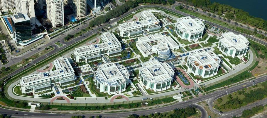 sala comercial O2 corporate office rio d