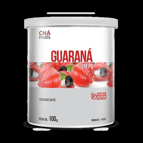 Guaraná em pó / Peso Líq.: 100g