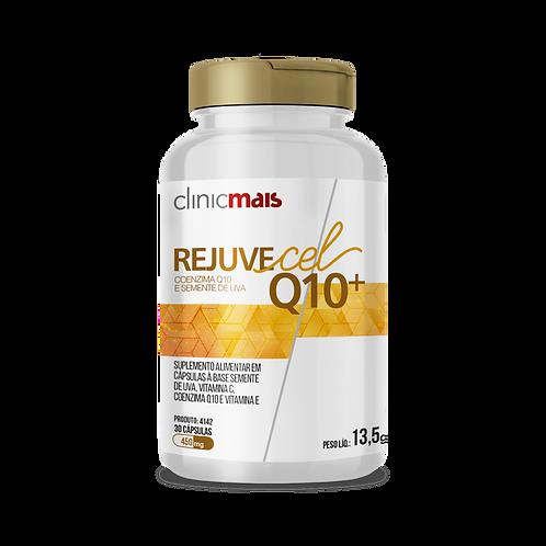 Rejuvecel Q10+ / Coenzima Q10 e Semente de Uva / Peso Líq.: 13,5g