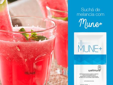 Suchá de melancia com Mune+