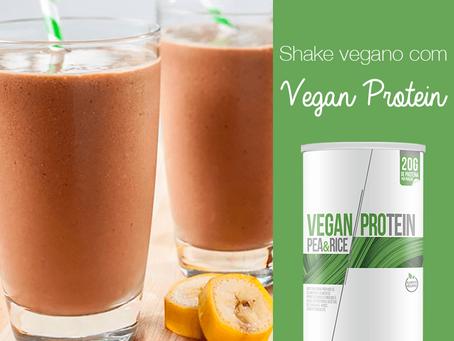 Shake Proteico e Vegano com Vegan Protein ClinicMais
