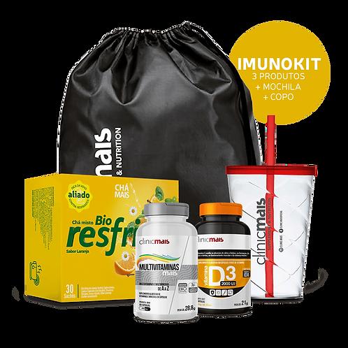 IMUNOKIT - 3 Produtos + 1 mochila + 1 copo