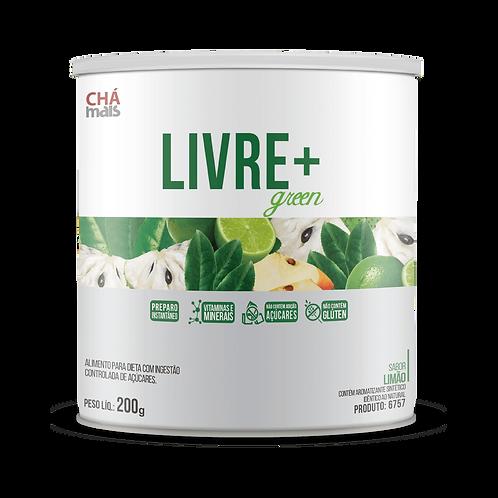 Solúvel Livre+ Green / Sabor Limão / Peso Líq.: 200g