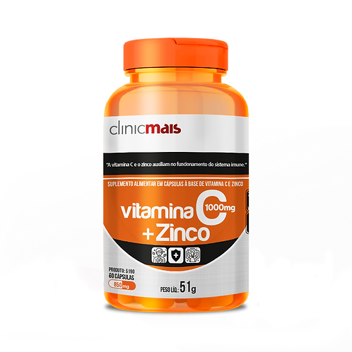 Vitamina C + Zinco / Peso Líq.:51g