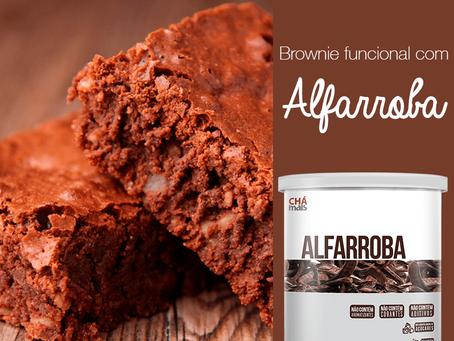Brownie Funcional de Alfarroba